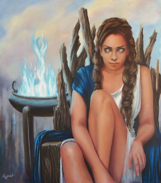 """""""Pythia The Oracle"""" by Ageliki - Ageliki"""