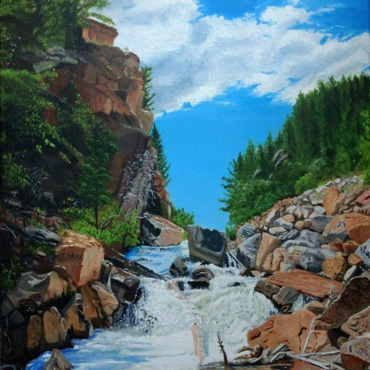 Roaring Falls - ART BY db