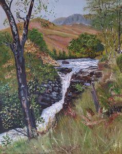 Autumnal Highlands Falls