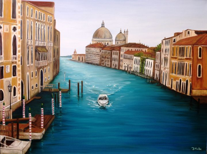 A quiet day in Venice - Donna's Gallery