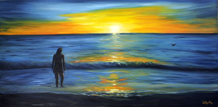 Me and my sunset - Donna's Gallery