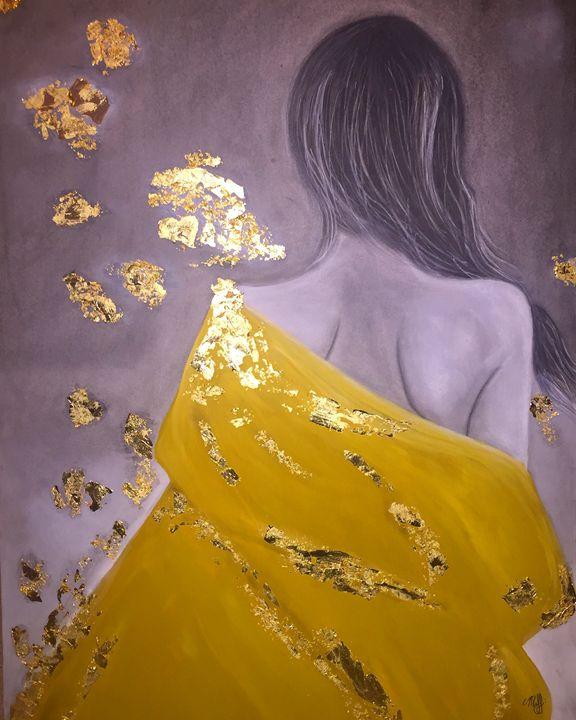 she leaves a sparkle everywherw - Mjj