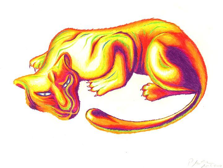 Rainbow Cat - Patrick MacPherson