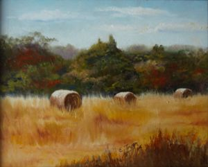 Hayfield Harvest - Arts d'Tryon Studio