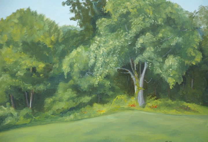 At the Woods edge - Arts d'Tryon Studio