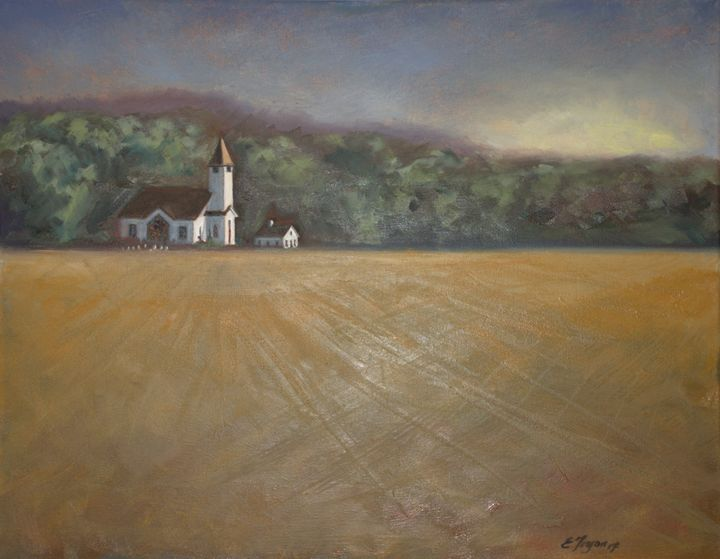 An Eastern Shore Church - Arts d'Tryon Studio
