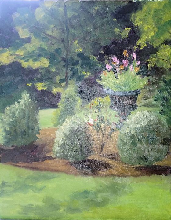 The Dancing Garden at Liriodendron - Arts d'Tryon Studio