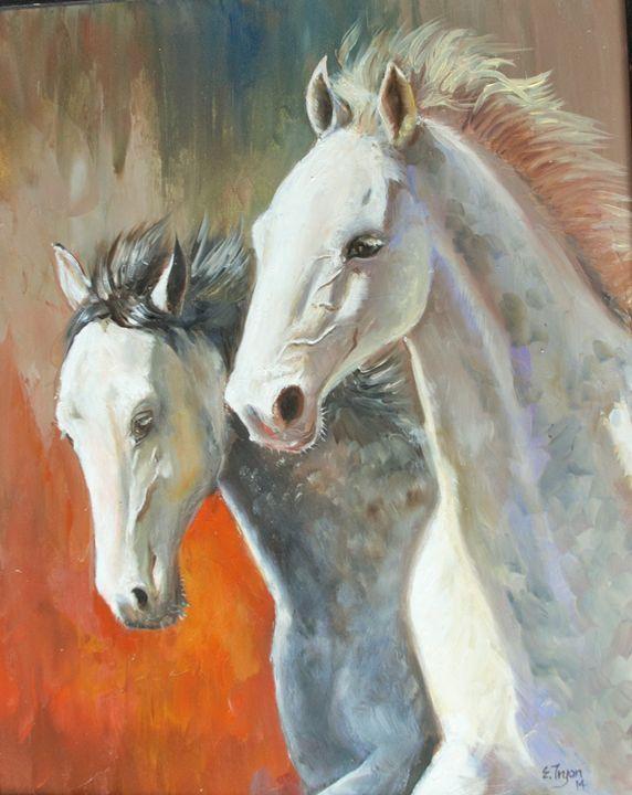 Wild Horses - Arts d'Tryon Studio