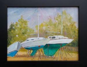 3 Sails ashore