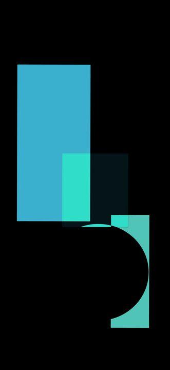 Abstract Suprematism Fine Art - Rik Bakshi
