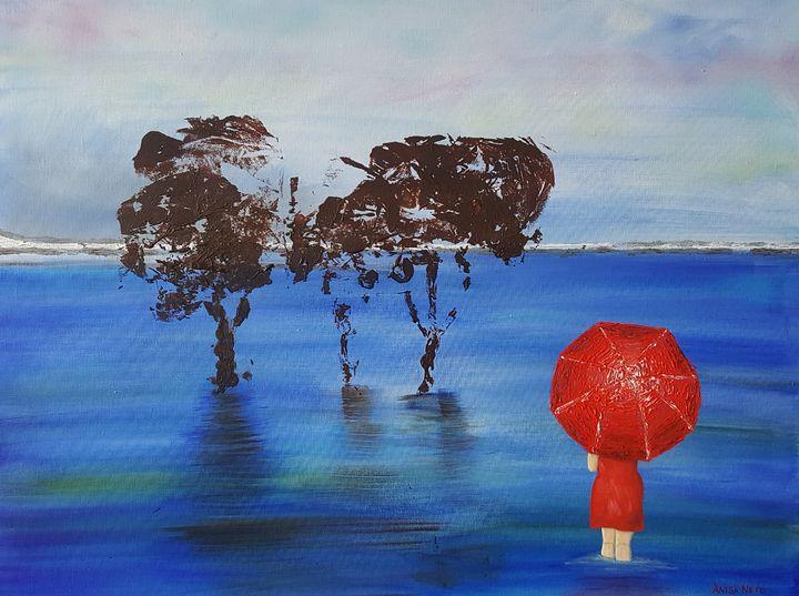 Red Umbrella - Anisa Neto