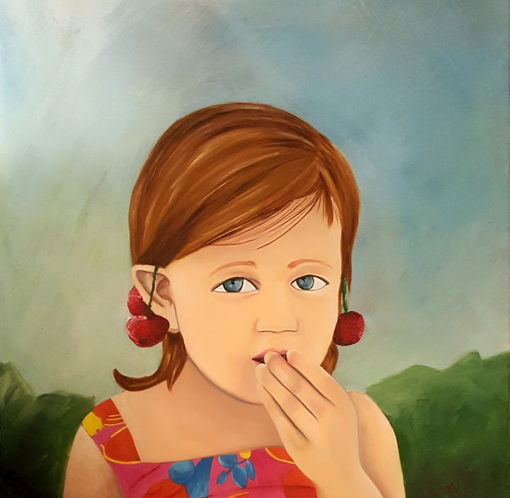 Cherry Earrings - Anisa Neto