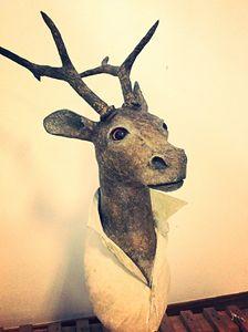 Deer bust - LA MULA MOLA ATELIER