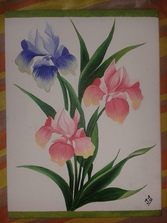orchids - Jess art Passion