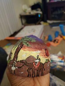 coconut shell art