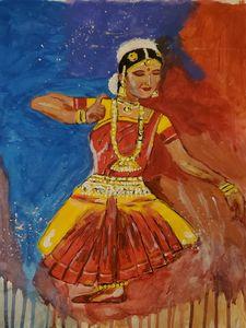 Indian folk dance art