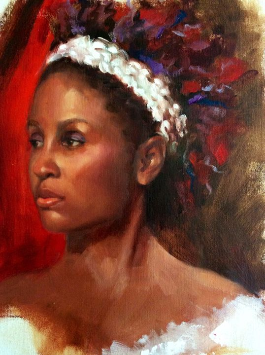 Angela - Pamela Shumway Portraits and Paintings