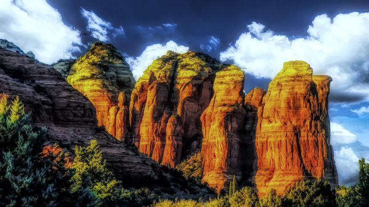 Coffee Pot Rock - Magnolia Photography and Digital Art