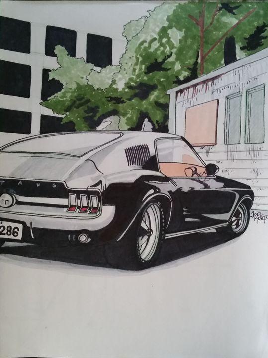 1967 Ford Mustang fastback - Joel Kurtz