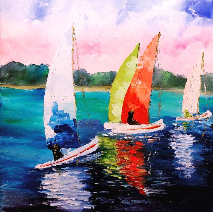 Yachts - Art Dariia Kalinina