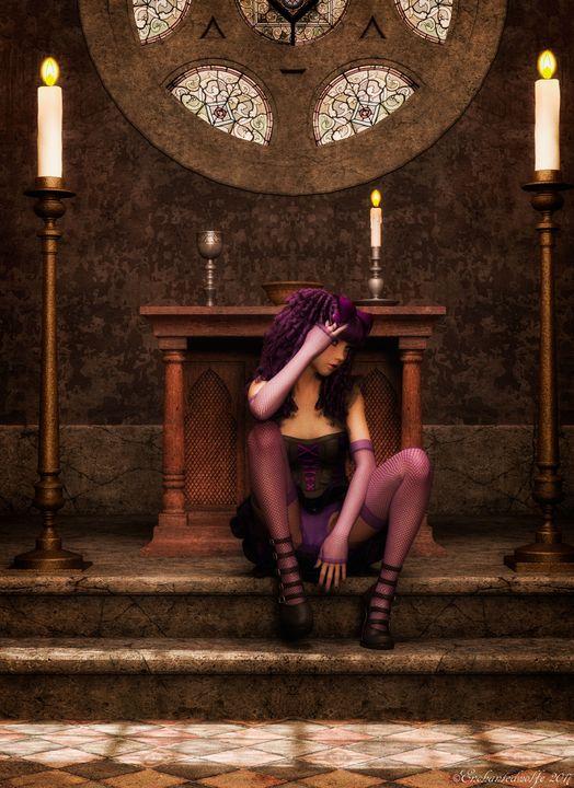 Goth Girl - EnchantedWolfe's Designs