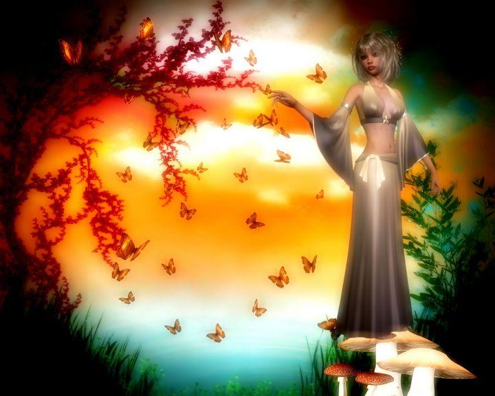 Butterfly Fantasy - EnchantedWolfe's Designs