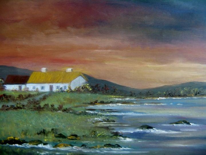 Tatch Cottage - Kathleen Garrett's Art