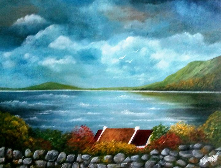 Portsallon Co Donegal - Kathleen Garrett's Art