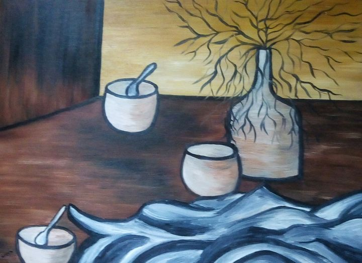 Abstract Still Life - Kathleen Garrett's Art
