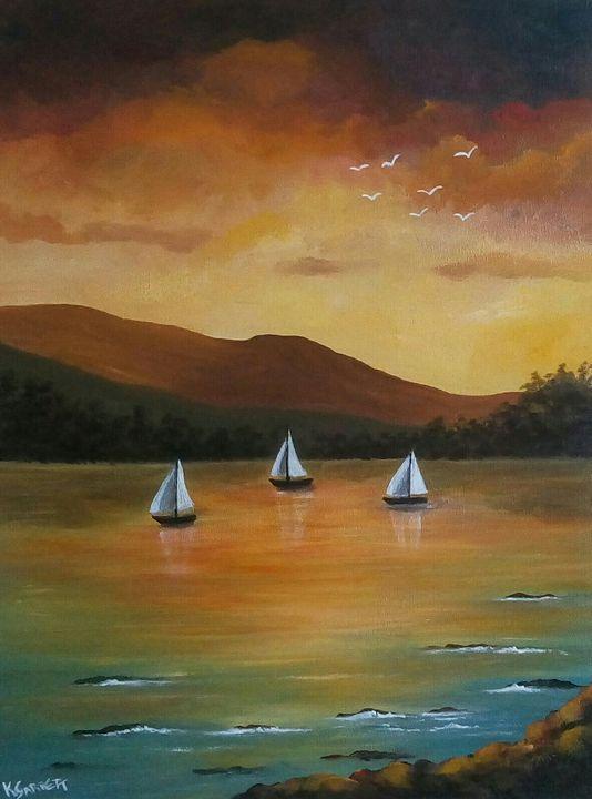 Sailing - Kathleen Garrett's Art