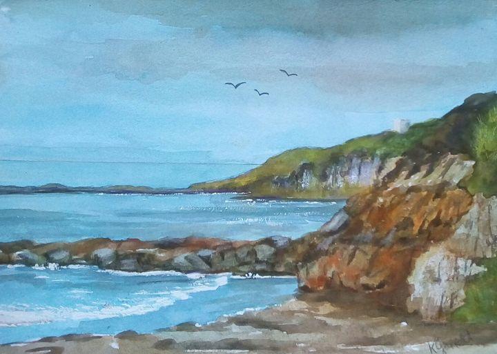 French Seascape - Kathleen Garrett's Art