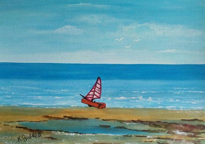 South of France - Kathleen Garrett's Art