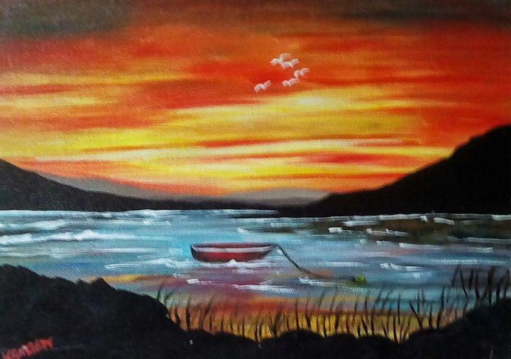 The Red Boat - Kathleen Garrett's Art