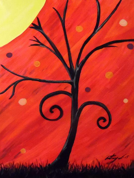 Swirled Tree - sNapTown Art