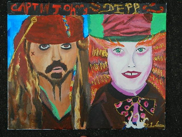 johnny depp tribute - peace and love