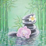 Zen, orchid