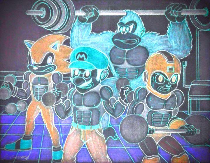 The smash bros workout - Futuremindarts