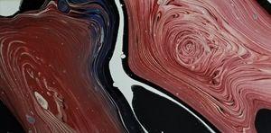 Maroon swirl