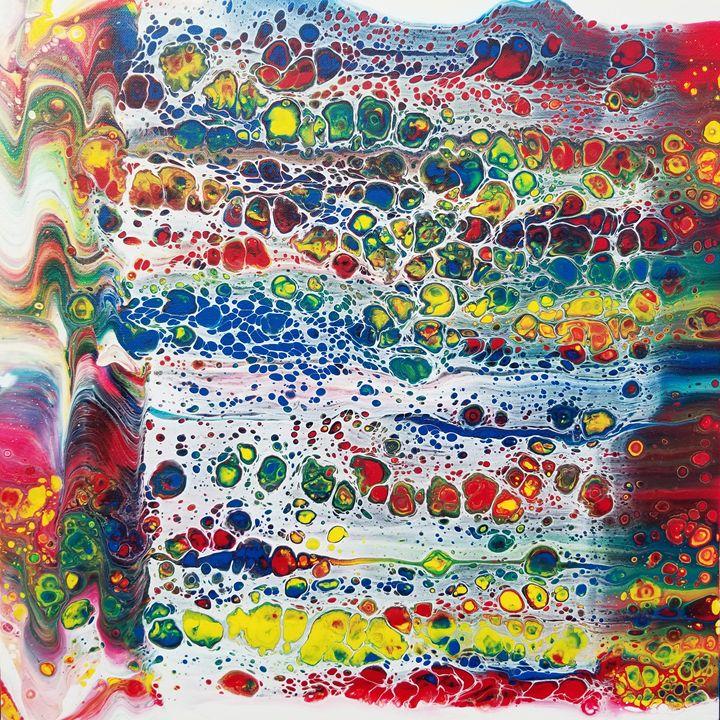 Rainbow Alley - Acrylics