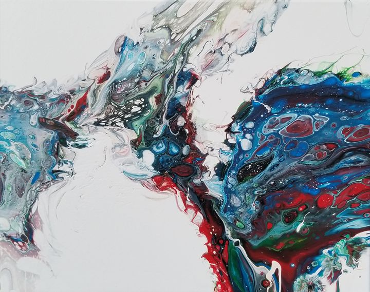 The Trippy Alien - Acrylics