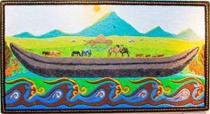 Kazakh fields
