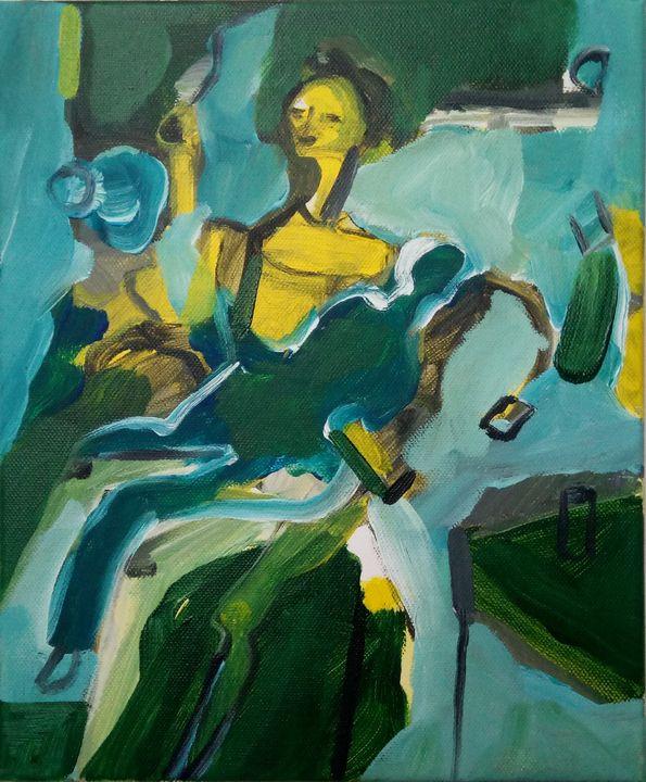 Girl With Rag Doll - Serafim Sousa