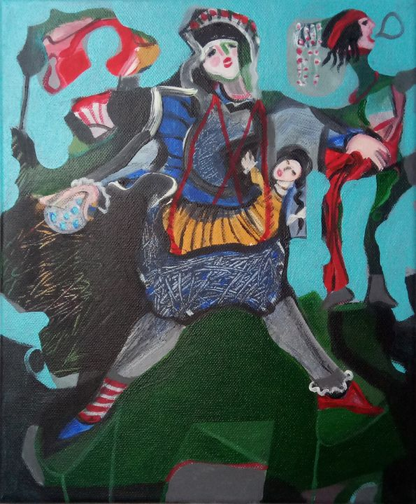 The Circus Arrived In The Village - Serafim Sousa