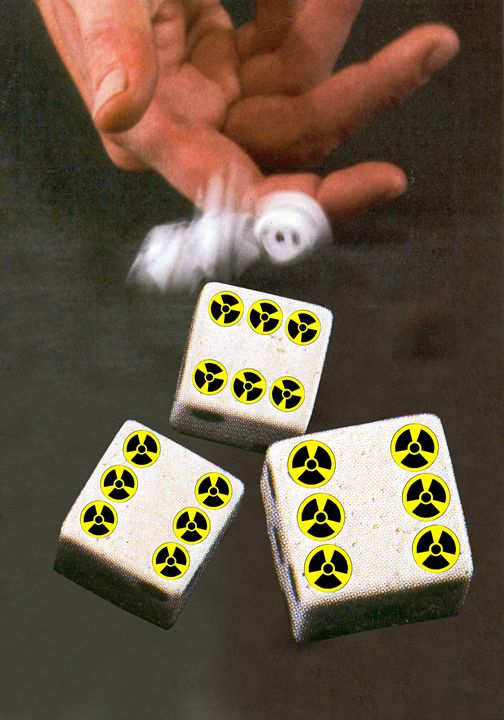 Nuclear Dice - Art Pirate