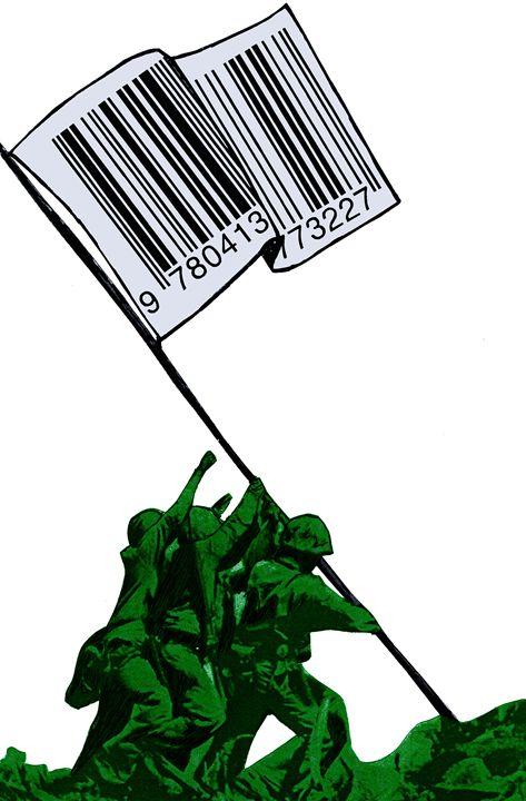 """Raising The Flag Of Commerce"" - Art Pirate"