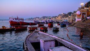The Ghats of Varanasi at Dawn