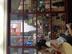 out the window (Mong kok)