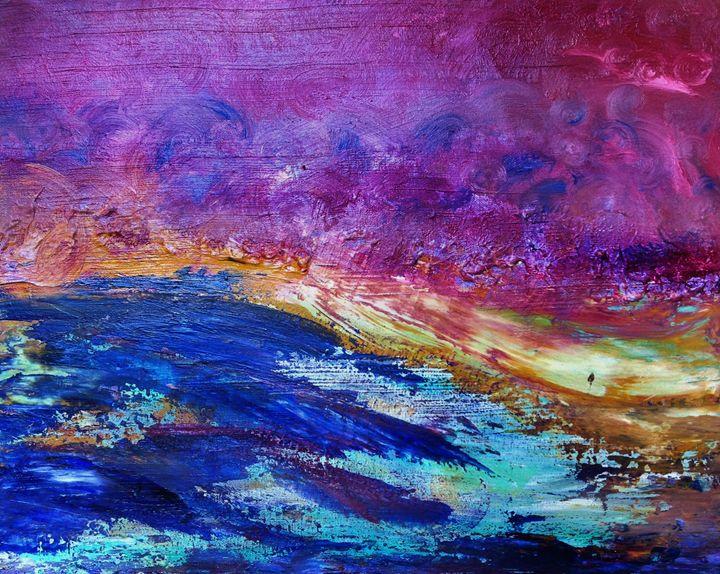 """Collision of Beauty"" - Art by Jess Hooks"