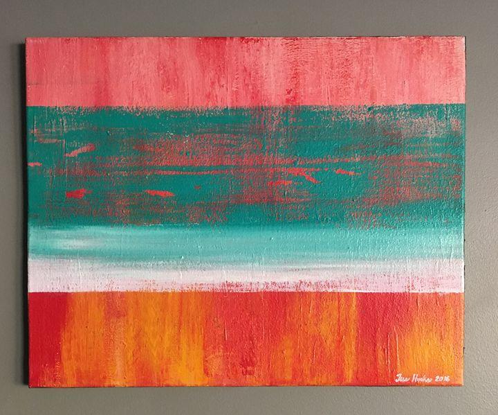 """Blurred Light"" - Art by Jess Hooks"