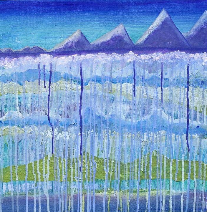 """Serene Outlook"" - Art by Jess Hooks"